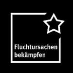 """Logo vom """"Bündnis Fluchtursachen bekämpfen"""""""
