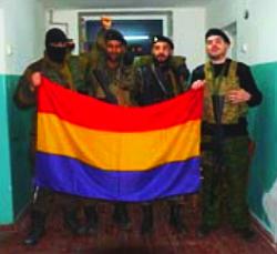 Spanische Interbrigadisten im Donbass