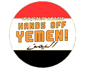 Logo: Hands off Yemen
