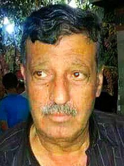 Bild: Ahmad Al Ghadban, der nach den Verhandlungen um die Al-Fiischeh Quelle ermordet wurde