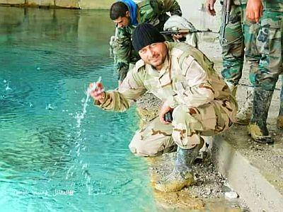 Bild: Hauptwasserversorgung von Damaskus befreit