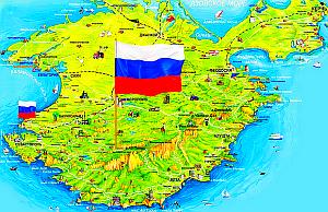 Seit drei Jahren ist die Krim wieder bei Russland!