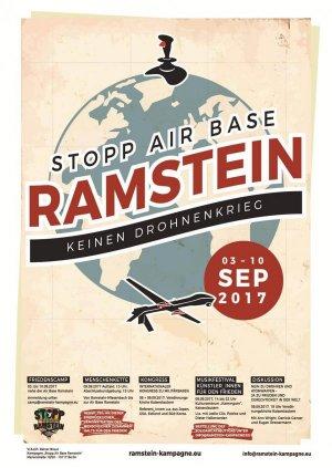 Kein Drohnenkrieg–Stopp Ramstein