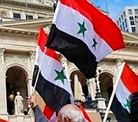 Bild: Demonstration für Syrien