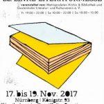 Plakat: 22. Linke Literaturmesse Nürnberg