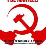 Plakat aus Katalonien - Bon cop de falc i de martell