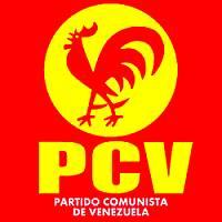 Logo der Kommunistischen Partei Venezuelas (PCV)