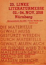 Postkarte: Linke Literaturmesse 2018